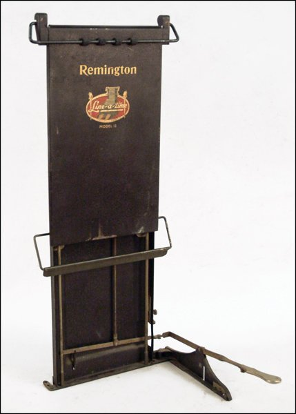 260: REMINGTON LINE-A-TYIMETYPEWRITER COPY HOLDER.