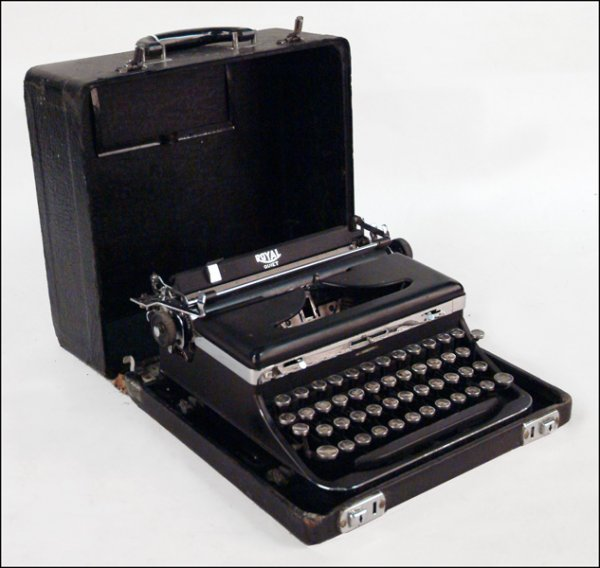 265: HEBREW LANGUAGE ROYAL TYPEWRITER.