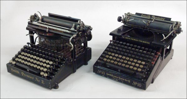 268: TWO SMITH PREMIER TYPEWRITERS.