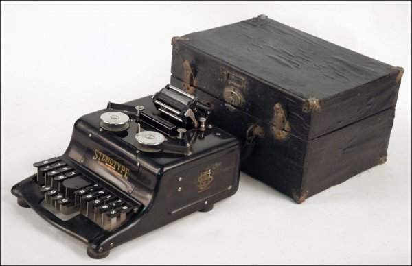 269: STENOTYPE TYPEWRITER.