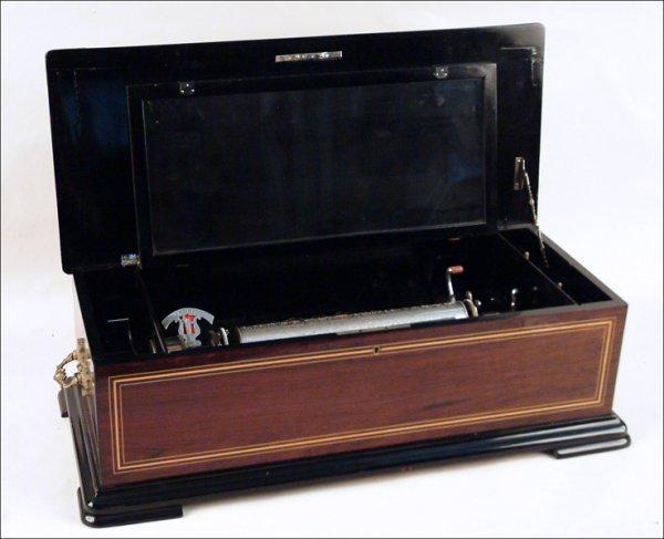 234: SUBLIME HARMONY INTERCHANGEABLE MUSICAL BOX.