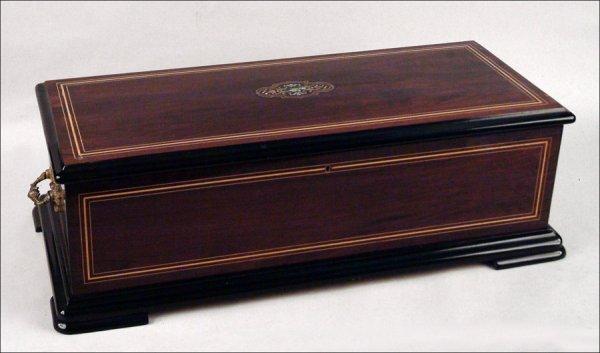 234: SUBLIME HARMONY INTERCHANGEABLE MUSICAL BOX. - 2