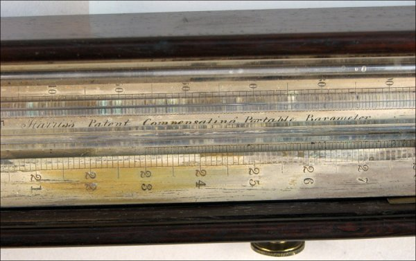 109: PORTABLE BAROMETER BY WILLIAM HARRIS & SON, LONDON - 3