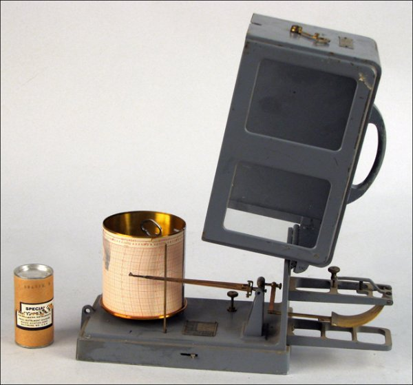 112: US NAVY THERMOGRAPH BY FRIEZ & SON, BALTIMORE.