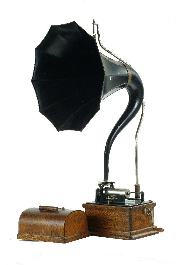 2: Edison Fireside Phonograph,