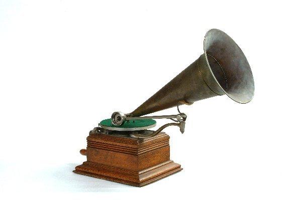 6: Zonophone Model C Phonograph,