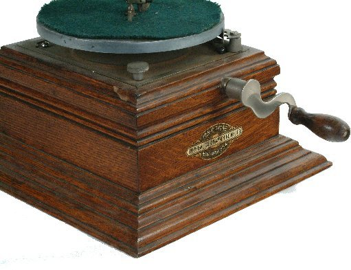 7: Zonophone Home Phonograph, - 3
