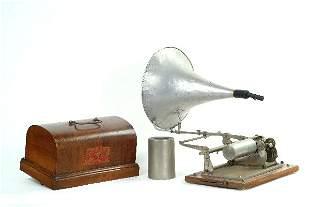 Pathe Coq Phonograph,
