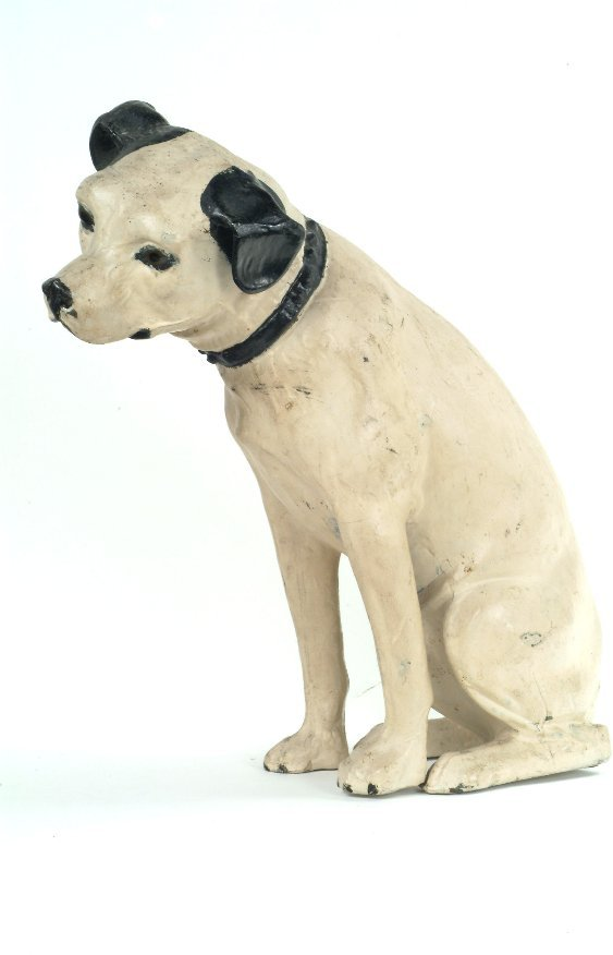 18: Zinc Figure of Nipper,