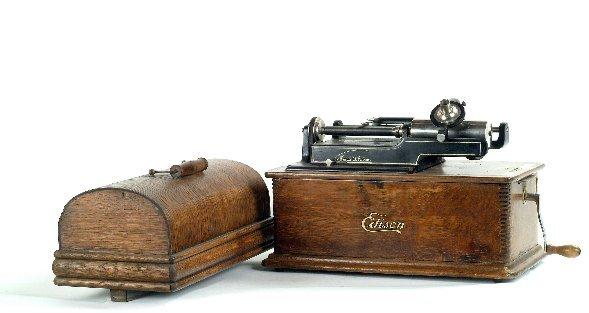 21: Edison Home Phonograph,