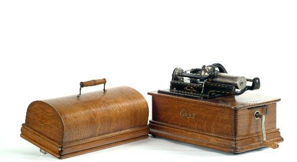 22: Edison Home Phonograph,