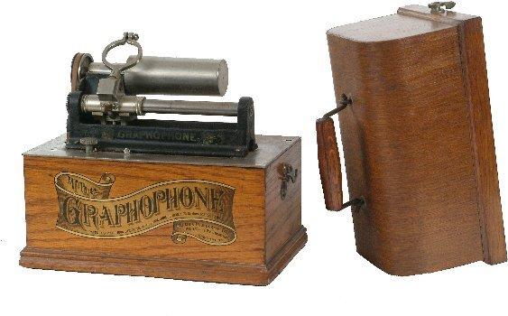 23: Modified Columbia Type A Graphophone,