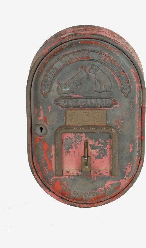 29: Victor Factory Fire Alarm Box,