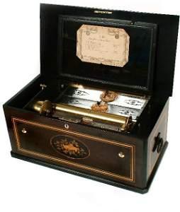 99: Piece a Oiseau Mandoline Music Box,