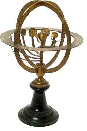 194: Brass Orrery, possibly by Delmarche,