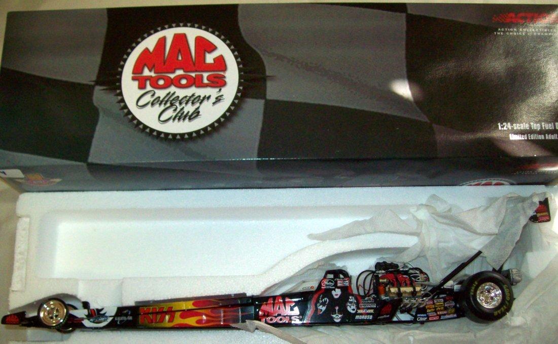 Action 2001 1:24 Mac Tools KISS Doug Kalitta Top Fuel Dragster 1//6000