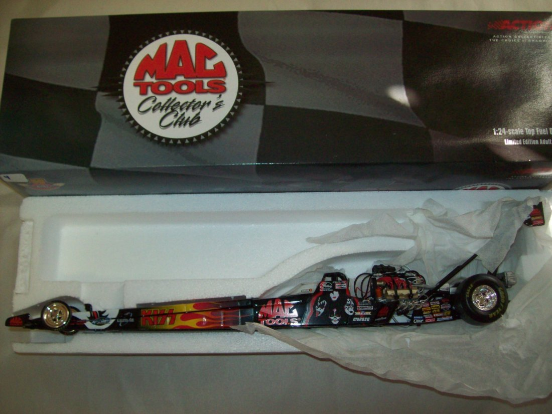 MAC TOOLS KISS Doug Kalitta 2001 Top Fuel Dragster 1:24
