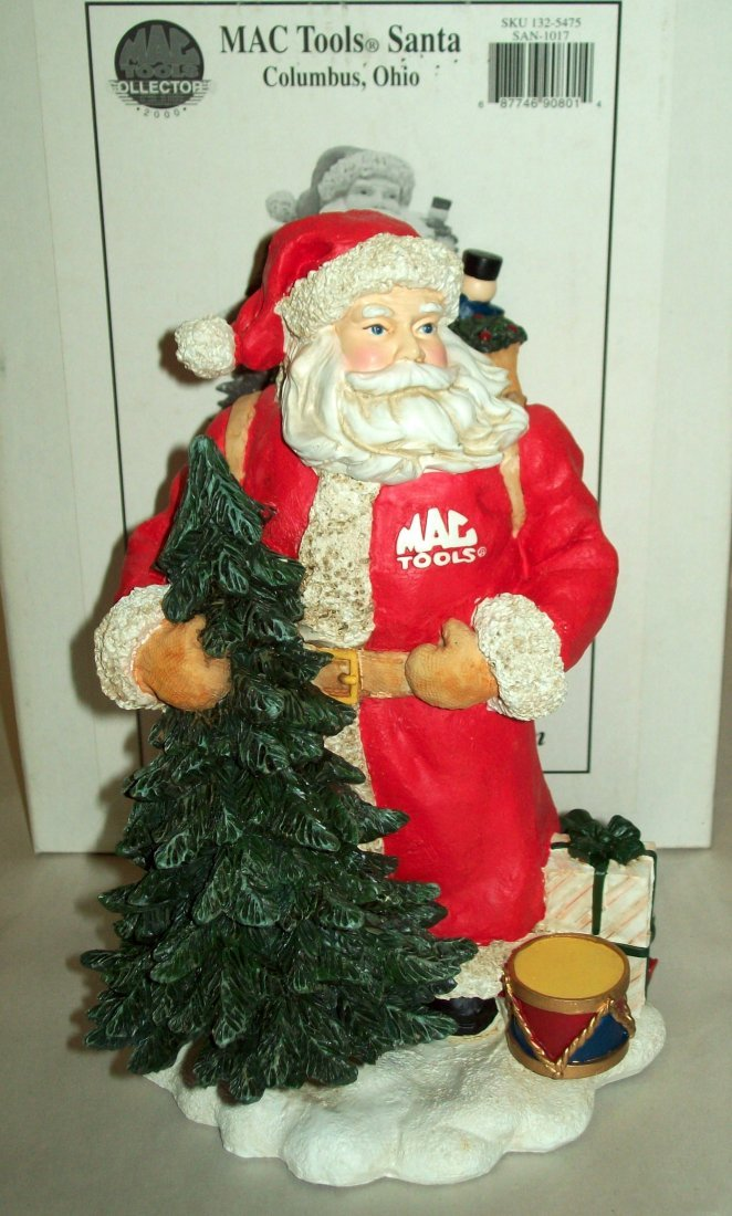MAC TOOLS Santa Collector 2000 Limited Edition