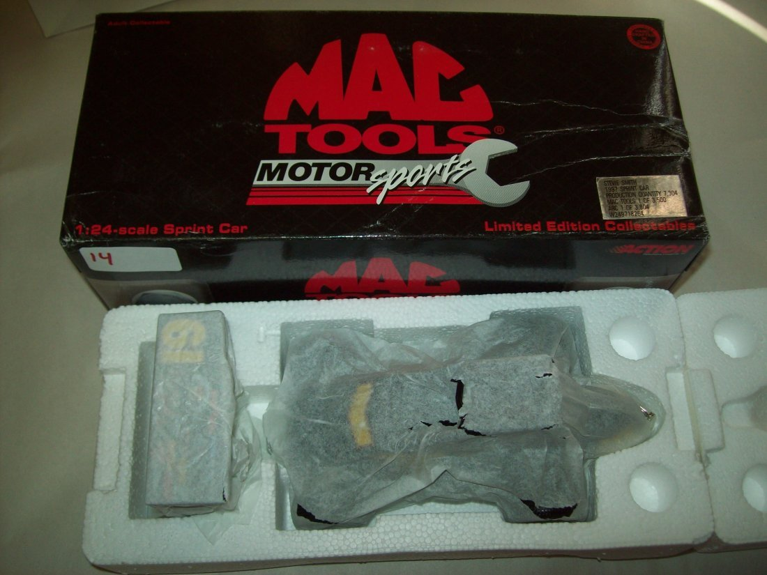 MAC TOOLS Steve Smith 1997 Sprint Car 1/24 Scale