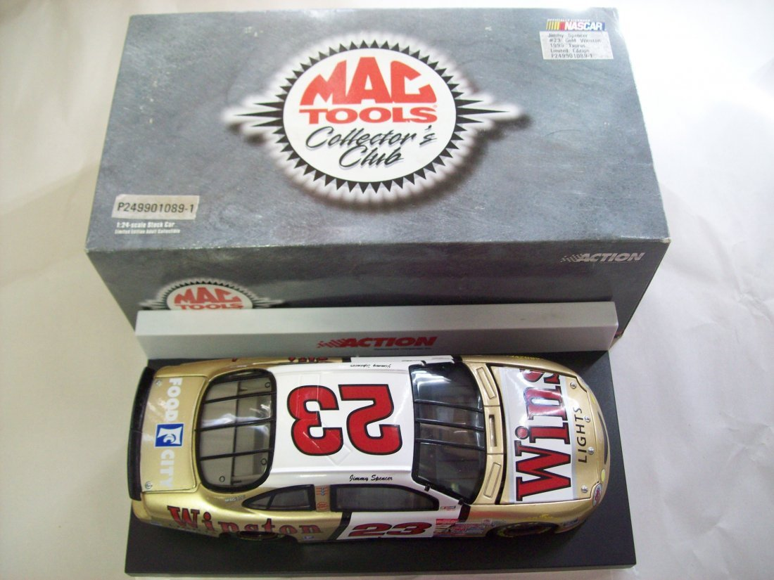 MAC TOOLS Jimmy Spencer #23 Gold Winston 1999 Taurus