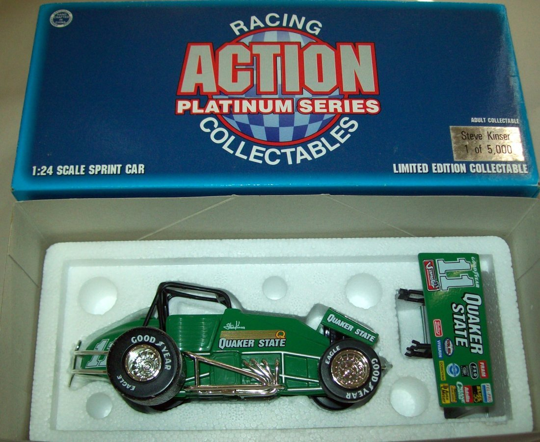 Racing Action Steve Kinser Platinum Series 1/24 Scale