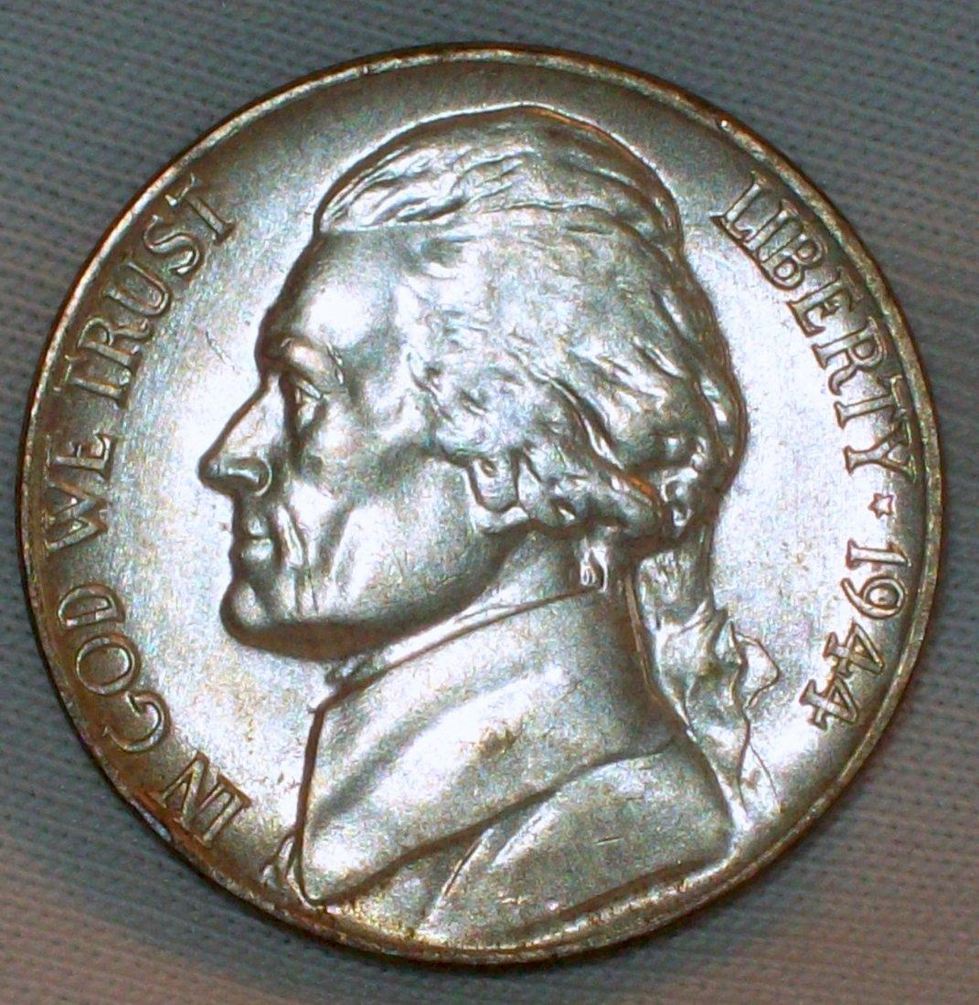 1944-P Jefferson Nickel XF