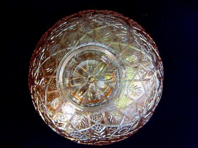 Imperial Hattie Deep Marigold 8 inch Round Bowl - 2