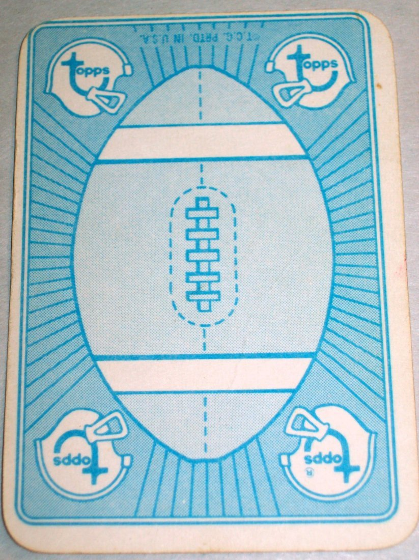 1971 TOPPS FOOTBALL GAME INSERT PARTIAL SET 30 of 52 - 5