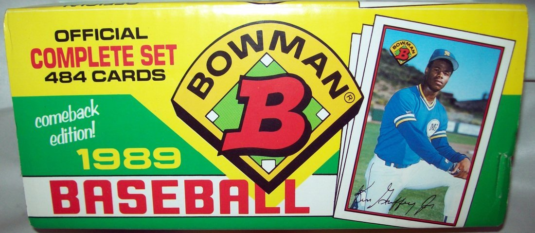 1989 BOWMAN BASEBALL COMPLETE BOX SET 484 CARDS