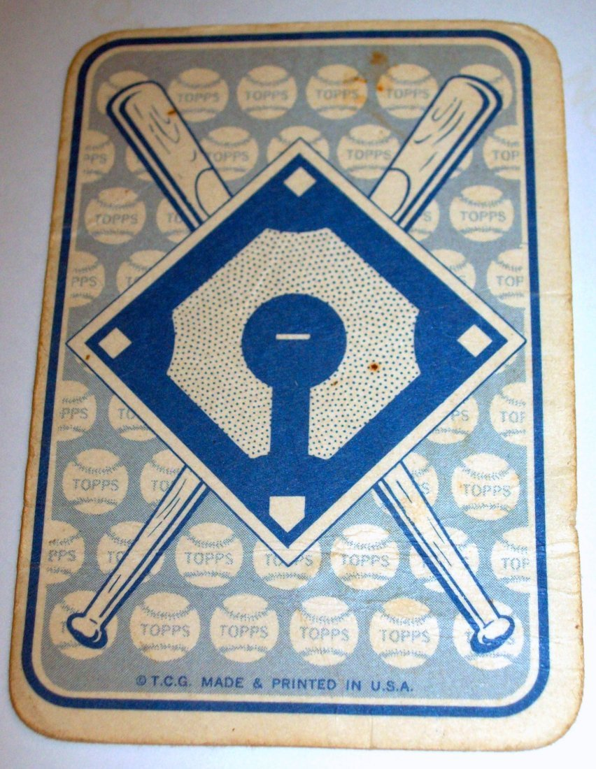 1968 Topps Baseball Game #2 Mickey Mantle SINGLE - 2