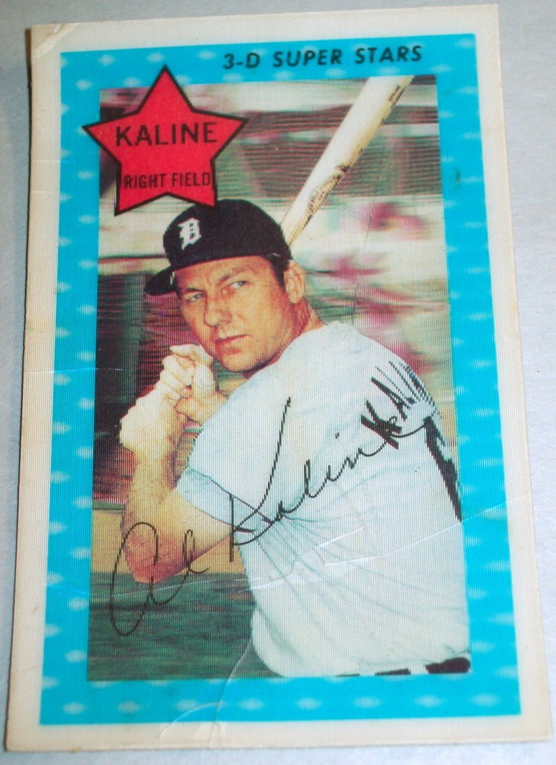 Lot of (3) 1972 Kellogg's Xograph 3-D Baseball Card - 3
