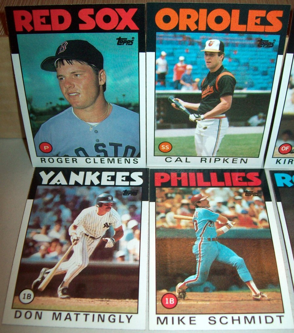 1986 Topps Baseball Set Complete - 2