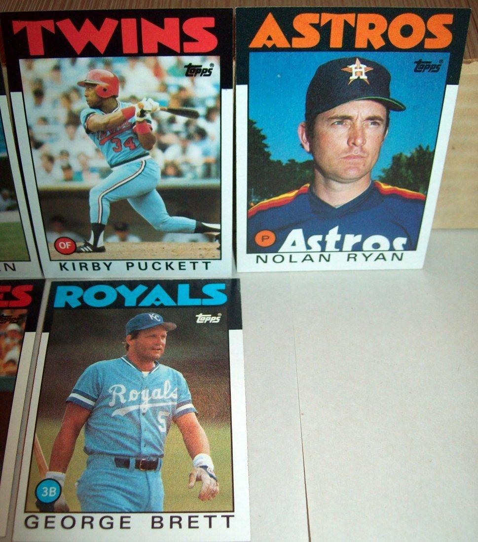 1986 Topps Baseball Set Complete - 3