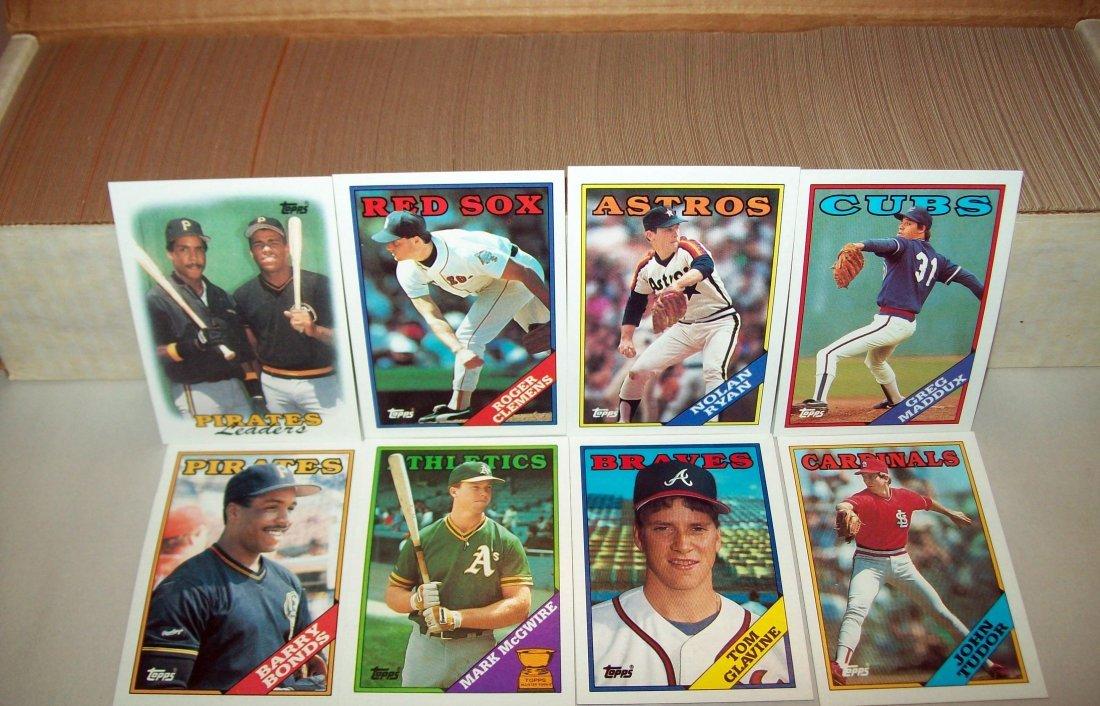 1988 Topps Baseball Set Complete