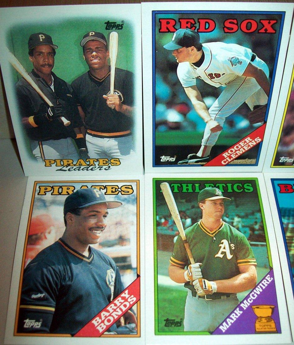 1988 Topps Baseball Set Complete - 2