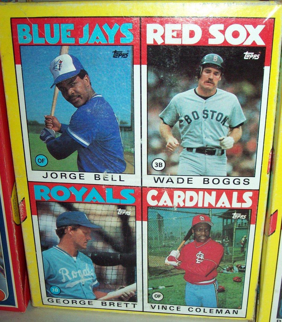 Lot of (3) Uncut MLB Box Baseball Cards - 3