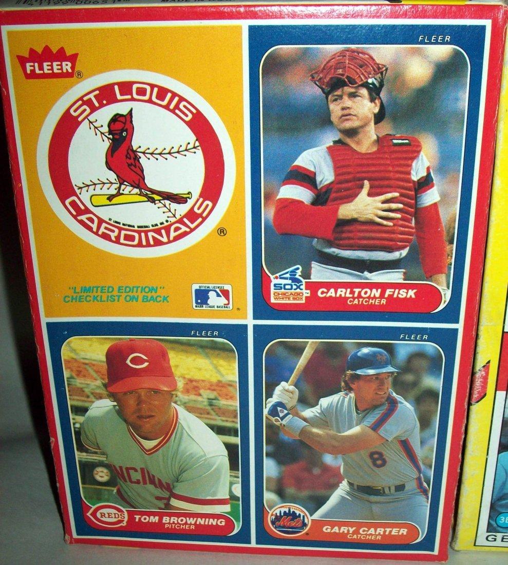 Lot of (3) Uncut MLB Box Baseball Cards - 4