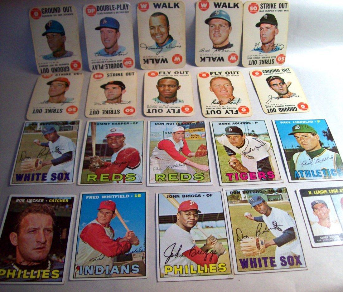 Lot of (20) 1960s Topps Baseball Cards