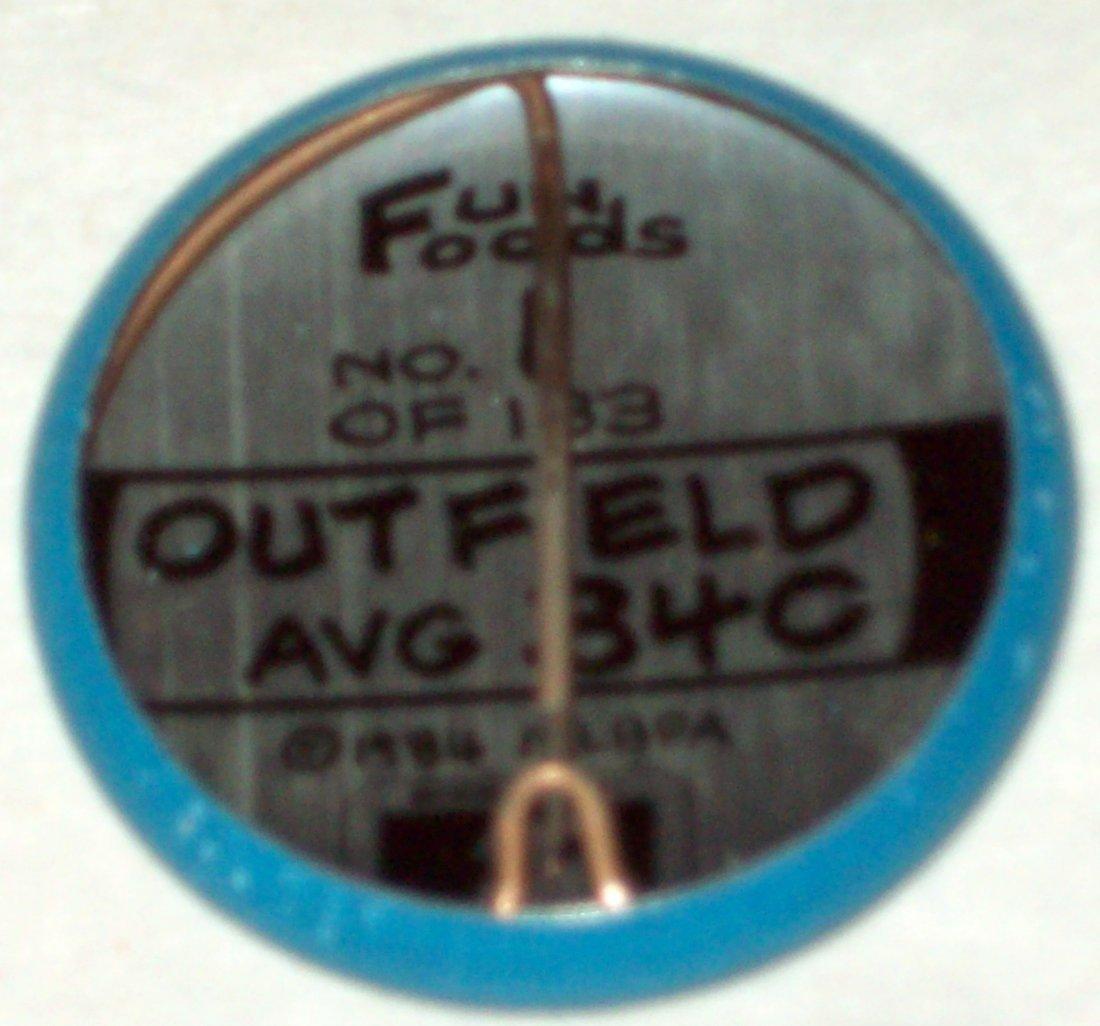 1984 Fun Foods Major League Baseball Pins 1-133 - 3