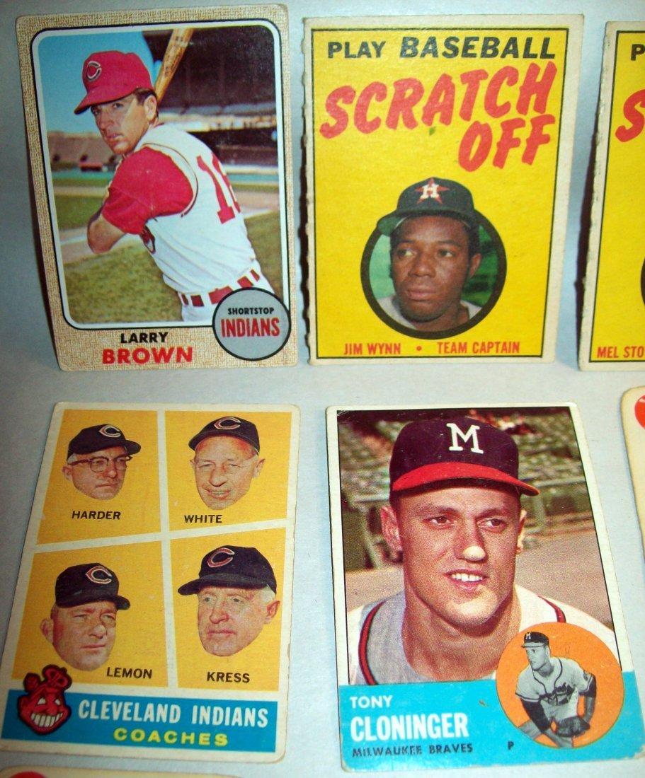 Lot of (15) 1960s Baseball Cards - 2