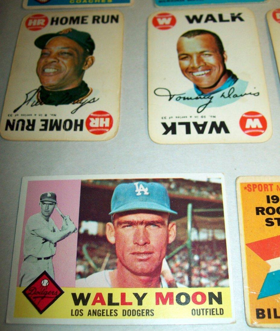 Lot of (15) 1960s Baseball Cards - 4