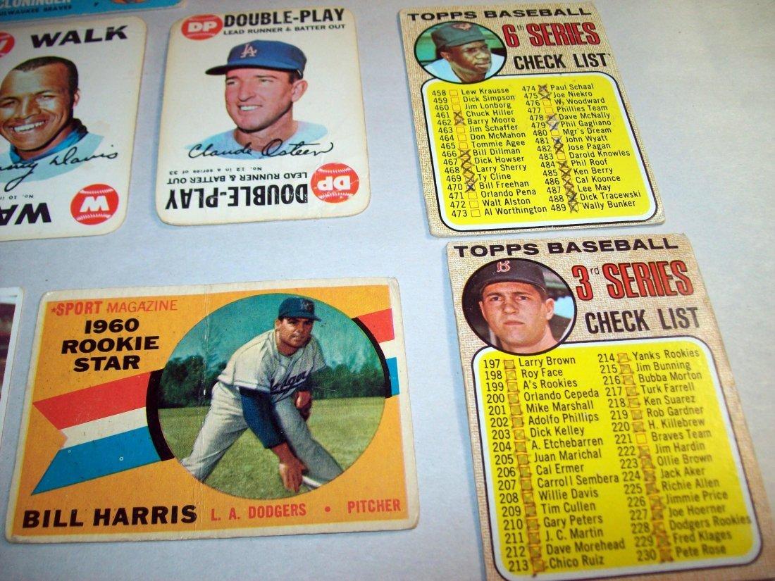 Lot of (15) 1960s Baseball Cards - 5