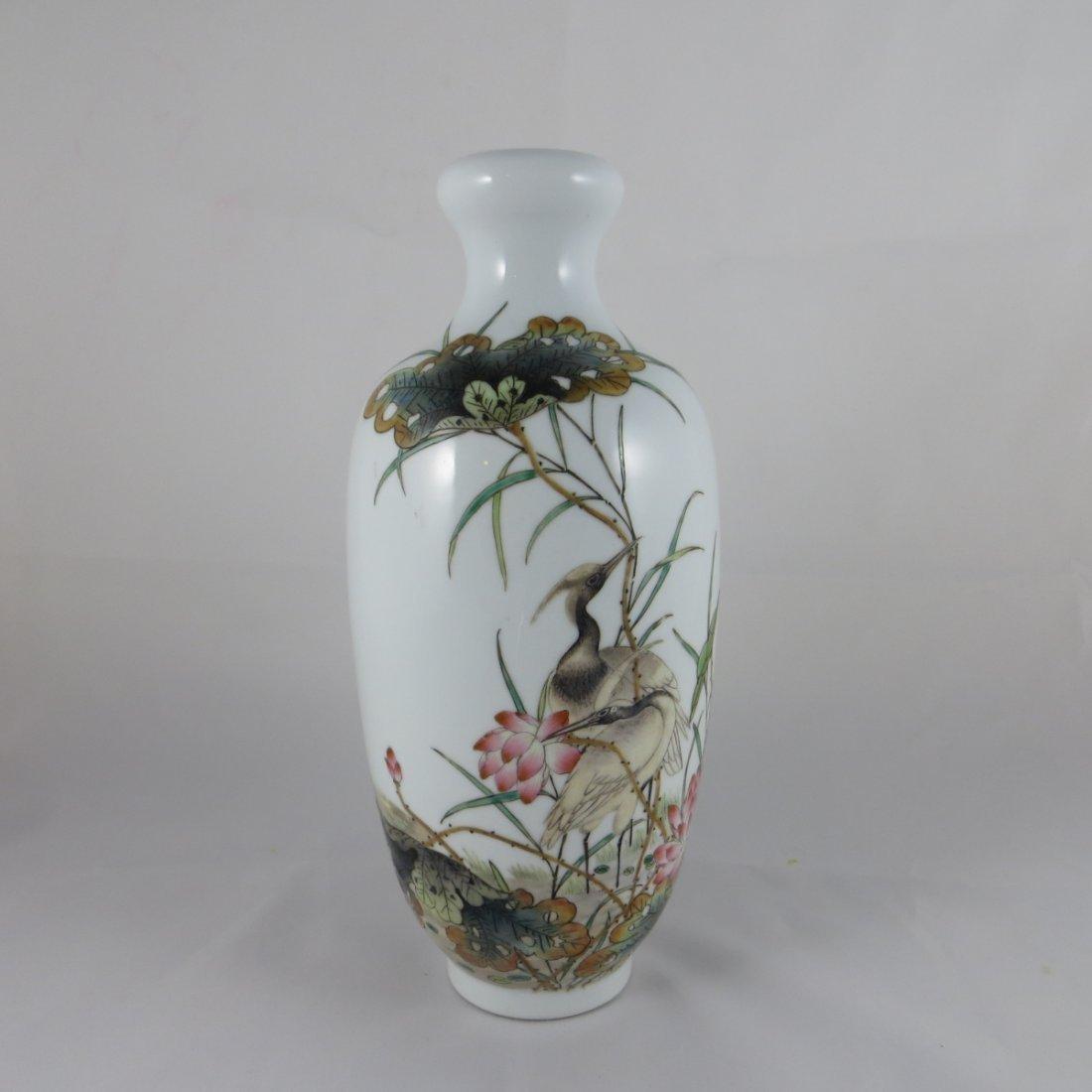 Chinese Republic Famille Rose Vase