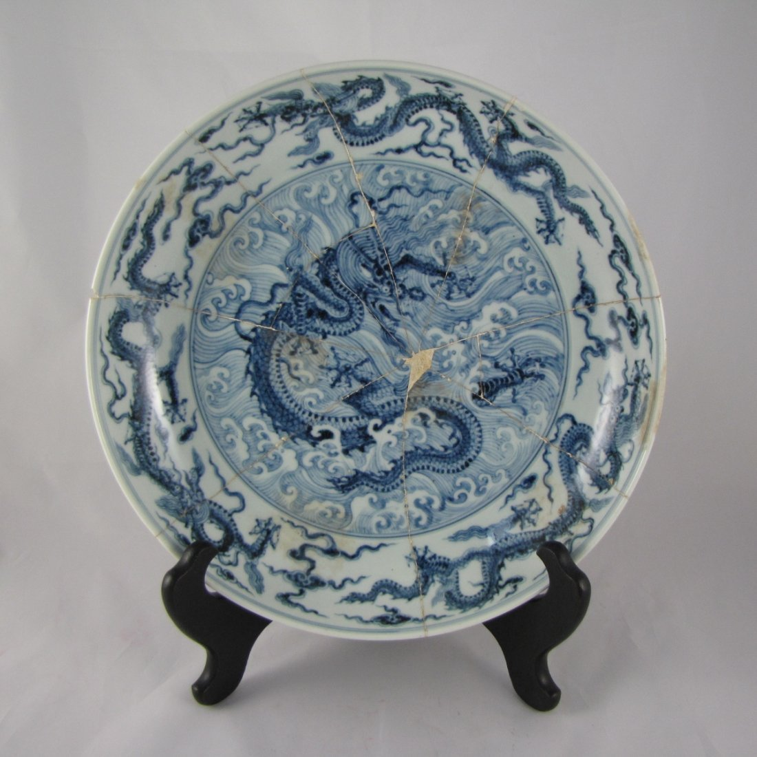 Chinese Ming Dynasty BW Charger