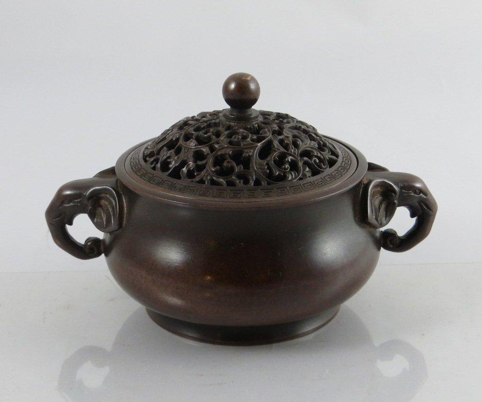 Chinese Ming Bronze Censer