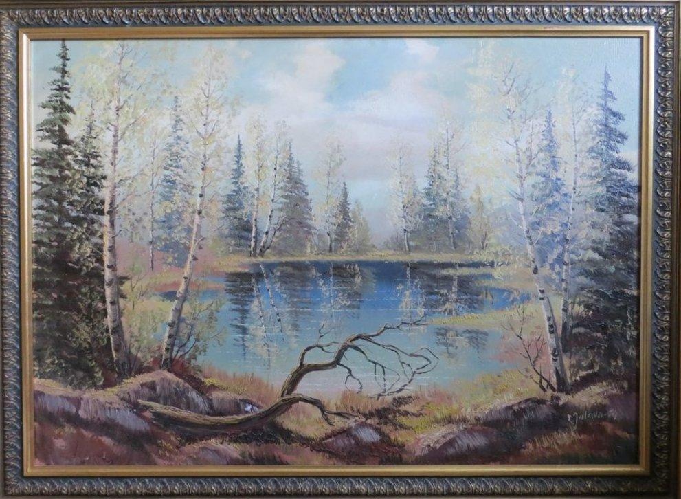 Erkki Jalava, Oil Painting