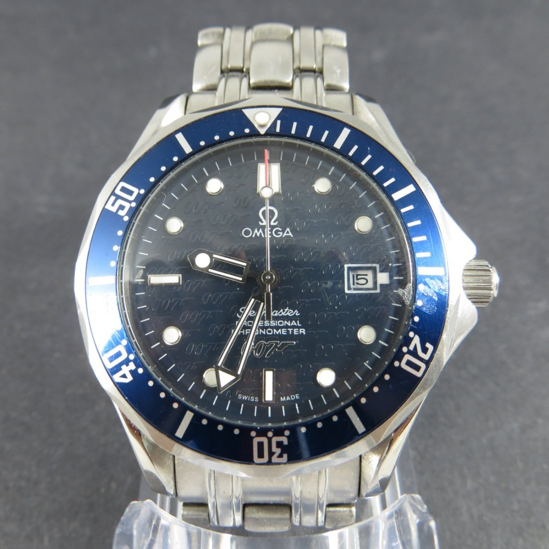 Faux Omega Stainlesssteel Watch
