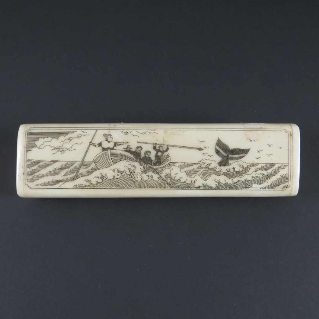 Chinese Qing Dynasty Bone Box
