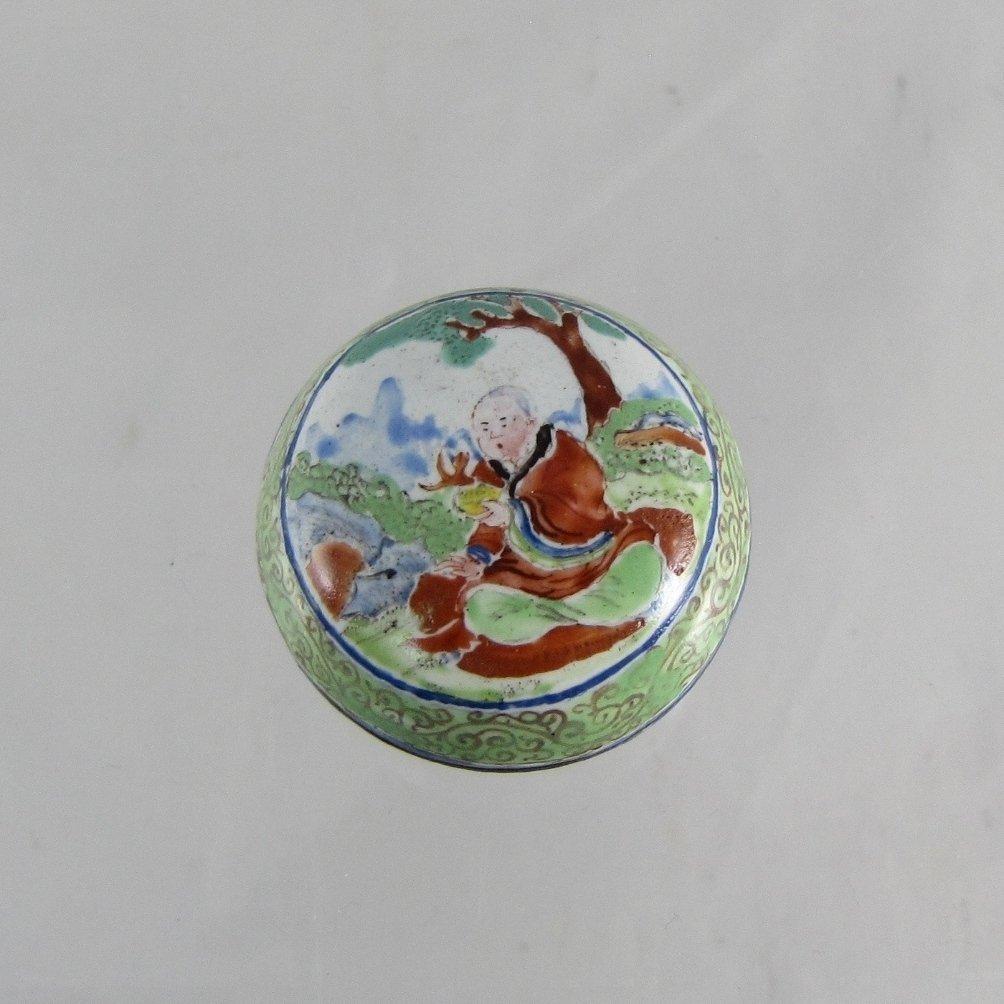 Chinese Qing Dynasty Enamel Box