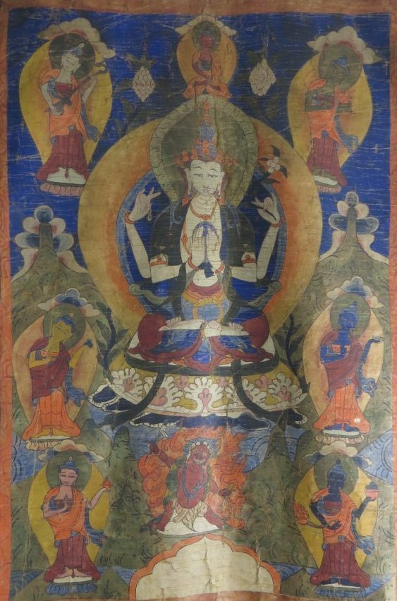 Sino-Tibetan Thangka